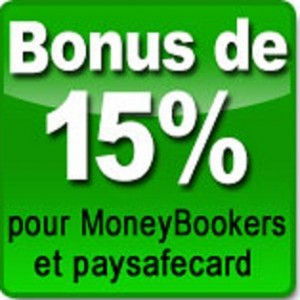 Bonus 15%