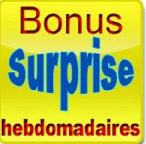 Bonus surprise
